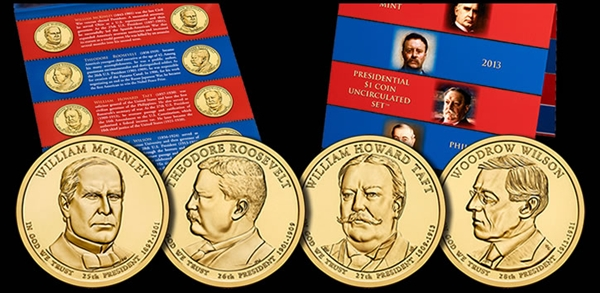 2013-Presidential-1-Coin-Uncirculated-Set