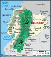 Equador-Map