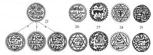 Рис.6. Именные и анонимные пулы Гюлистана 762-767 гг.х.