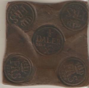 рис.12 0.5 далера 1726 г. - аверс
