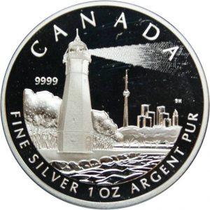 Рис. 20  20 долларов, Канада, 2005, серебро
