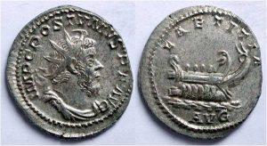 Рис.20. Антонинин. Римская империя, император Постум, 260-265 гг.