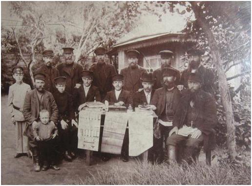 артель крестьян Костромской губернии Чухломского уезда, конец XIX в.