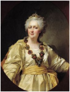 Екатерина II - российская императрица